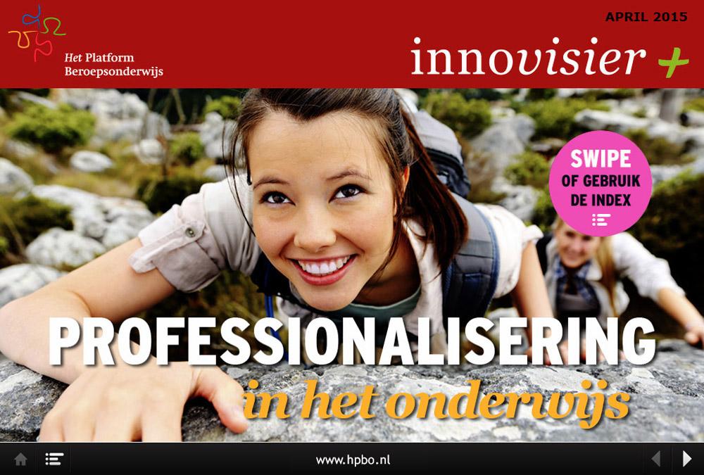 Het Platform Beroeps Onderwijs-Webmagazine